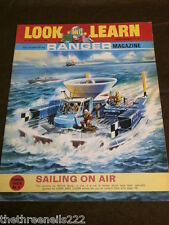 LOOK and LEARN # 341 - SAILING ON AIR - JULY 27 1968