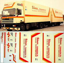 DAF Selman Holland (NL) 1:87 Truck Decal LKW Abziehbild