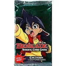 BEYBLADE - Collision Trading Card Game Sealed Booster Packs (24) #NEW