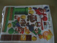stickers DECORATION MURALE deco chambre enfant SUPER MARIO nintendo wii u