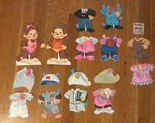 Vintage 1983 Monchhichi Paper Dolls by Sekiguchi Co. Precut