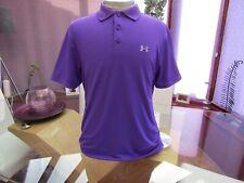 "Men's Under Armour HEAR GEAR Sports  Polo T Shirt  - 42"" Chest"
