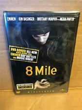 8 Mile (DVD, 2003, Widescreen Uncensored Bonus Materials) NEW Sealed