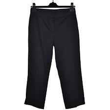 ICEBERG Pantacourt Pantalon Stretch 36 Gilmar 40IT Made In Italy 26 Black Pants