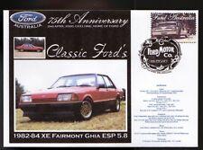 2000 FORD 75th ANNIV COV, 1982 XE FAIRMONT GHIA ESP 5.8