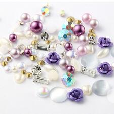 3d Rose Superior Alloy Jewelry Gems Nail Art Decoration Glitter Rhinestones 04