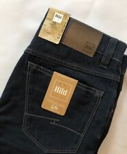 "Hiltl Denim Lab Dark Blue Jeans 32"" waist 32"" leg Regular 48 Eur RRP £129"