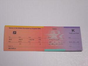 1984 LOS ANGELES SUMMER OLYMPICS Track and Field Full Ticket K