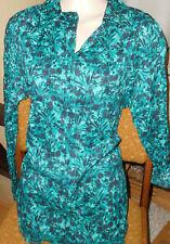 schöne  Bluse von Gina Benotti in Gr 38  knitteroptik