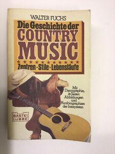 DIE GESCHICHTE DER COUNTRY MUSIC - WALTER FUCHS - 1980