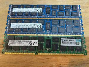 PC3-14900R DDR3 ECC Reg Memory RAM for Supermicro SYS-5037MR-H8TRF 4x8GB 32GB