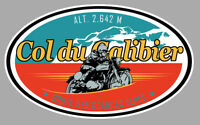 COL DU GALIBIER ROUTE DES GRANDES ALPES 12cm AUTOCOLLANT STICKER CB040