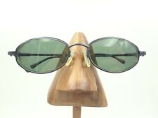 Vintage Guess GU183 Fly BL-3 Blue Metal Oval Sunglasses FRAMES ONLY
