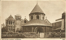 Round Church Cambridge J Salmon Sevenoaks 19204 picture postcard posted