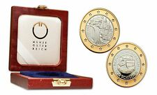 Austria 1995 Joins the E.U. Bi-Metalic 500 schilling Gold & Silver Proof w/ Box