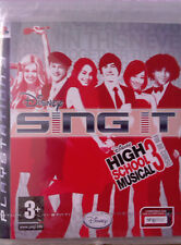 "JEU PS3 "" Sing It "" (High School Musical 3) NEUF SOUS BLISTER"