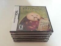 Wordmaster (Nintendo DS, 2008) DS NEW!