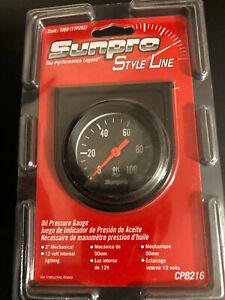 Sunpro oil psi gauge Style Line CP8216