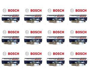 Set of 12 Volvo S40 Bosch Spark Plugs 0242240635 30650843