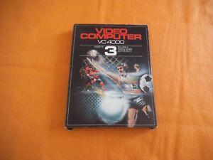 Video Computer VC 4000 Cassette Nr 3 in OVP inkl Beschreibung Interton