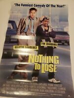 Nothing to Lose 1997 27x41 Orig Movie Poster Rolled Martin Lawrence Tim Robbins