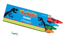 Dinosaur Party Supplies Favours CRAYONS Pack