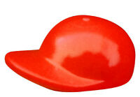 Lego 10x rote Baseballkappe für Minifiguren Figur Kappe Mütze rot 4485b Neu
