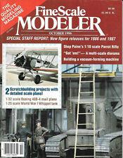 Fine Scale Modeler Oct.86 Boeing 40B-4 Whippet Tank Shep Paine Parrot Rifle