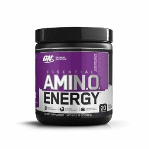 Optimum Nutrition Amino BCAA EAA Amino PreWorkout 180g BB 9/21 or Better - Grape