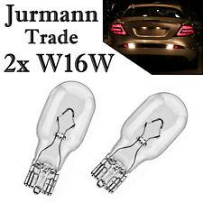 2x Jurmann W16W 12V Long Life Bremslicht Hecklicht Rückfahrlicht Halogen Birne