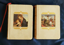 Vintage The Prayer Book and Life of Christ Library of Catholic Devotion Books 19