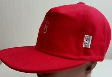 GOLF WINTER HAT CAP CONTE OF FLORENCE WOOL WATER STAIN REPELLNT 3M Baseball RED
