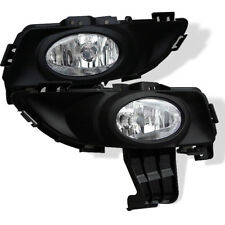Mazda 04-06 Mzd 3 4DR Sedan Clear Bumper Fog Lights w/Bulbs+Wire+Switch Full Set