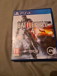 Battlefield 4 (Sony PlayStation 4, 2013) standard edition.
