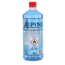 ALPINE Frostschutz SCHEIBENKLAR Scheibenfrostschutz Konzentrat -60°C BLAU 1L