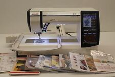 MINT JANOME MEMORY CRAFT 12000 HORIZON SEWING, QUILTING & EMBROIDERY MACHINE!
