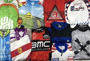 Lot Of 10 Mens Size XL Cycling Jerseys + 4 Shorts - Primal Canari Pearl Izumi