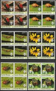 """GUINE-BISSAU - 2003 MNH """"INSECTS Of The WORLD"""" Block Of 4, Complete Set !!!!"""