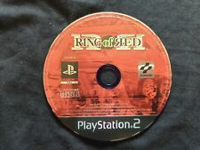RING OF RED Sony Playstation 2 Game PS2