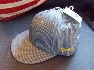 Djinns 'PC Needlecheck II' Baseball Cap 7 5/8 Grey Mix BNWT