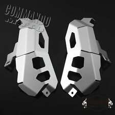 Cylinder Head Guards Protector Cover Silver Fit BMW R1200GS ADV 2013 2014 15 16