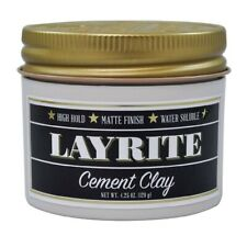 LAYRITE CEMENT CLAY POMADE 4.25 OUNCE