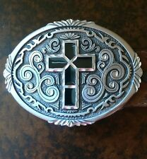 Leegin Silver Creek Collection Leather Belt With Western Grace Buckle