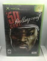 50 Cent Bulletproof - NEW Sealed Unopened - Slightly Ripped Shrinkwrap -Xbox