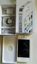 """Apple iPhone 4S 8GB """"Factory Unlocked"""" iOS WiFi Black and White Smartphone"""