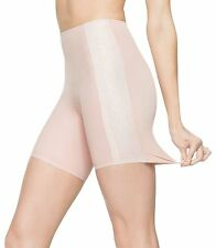 ASSETS RED HOT LABEL BY SPANX Luxe & Lean Metallic Mid-Thigh Shaper Rose S NWT