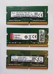 4GB DDR4 2400MHz PC4-19200 DDR4-2400T SODIMM Laptop RAM Memory - Samsung Hynix