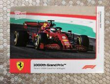 Topps Now Formula 1 card 002 Ferrari's 1000th GP 13th September 2020 (#1L) F1