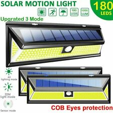 180 Led Solar Power Motion Sensor Wall Light Garden Path Lamp Outdoor Waterproof