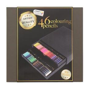 Coffret 46 Crayons de couleur Craft Sensations